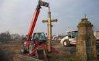 A La Gaubretière, la croix Saint-Paul va faire peau neuve