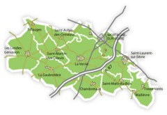 Cartes du canton de Mortagne