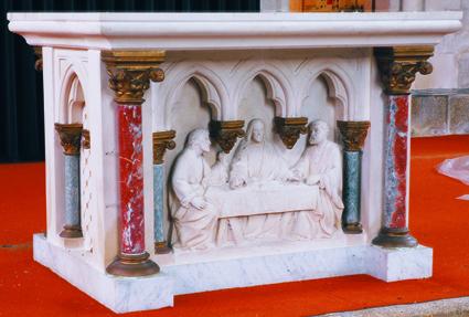 L'autel du XIXème siècle