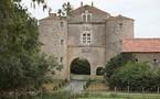 Incendie au château de la Cressonnière à Cezais