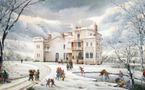 Neige sur le domaine de l'Etablière, par Raphaël Toussaint