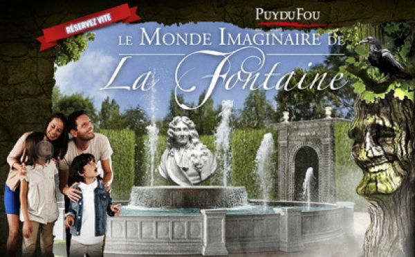 Le Monde imaginaire de La Fontaine, nouvelle attraction au Puy du Fou